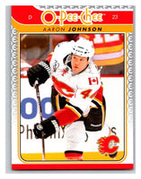 2009-10 O-Pee-Chee #714 Aaron Johnson Flames Mint NHL