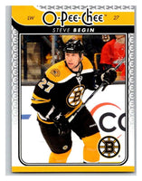 2009-10 O-Pee-Chee #718 Steve Begin Bruins Mint NHL