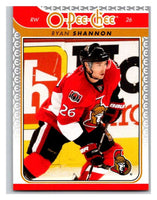 2009-10 O-Pee-Chee #734 Ryan Shannon Senators Mint NHL