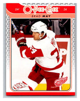 2009-10 O-Pee-Chee #747 Brad May Red Wings Mint NHL