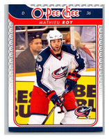 2009-10 O-Pee-Chee #748 Mathieu Roy Blue Jackets Mint NHL