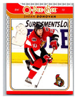 2009-10 O-Pee-Chee #750 Shean Donovan Senators Mint NHL
