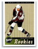 2001-02 Upper Deck Vintage #278 Vaclav Nedorost MINT Hockey NHL RC Rookie 02793