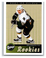 2001-02 Upper Deck Vintage #280 Niko Kapanen MINT Hockey NHL RC Rookie 02795