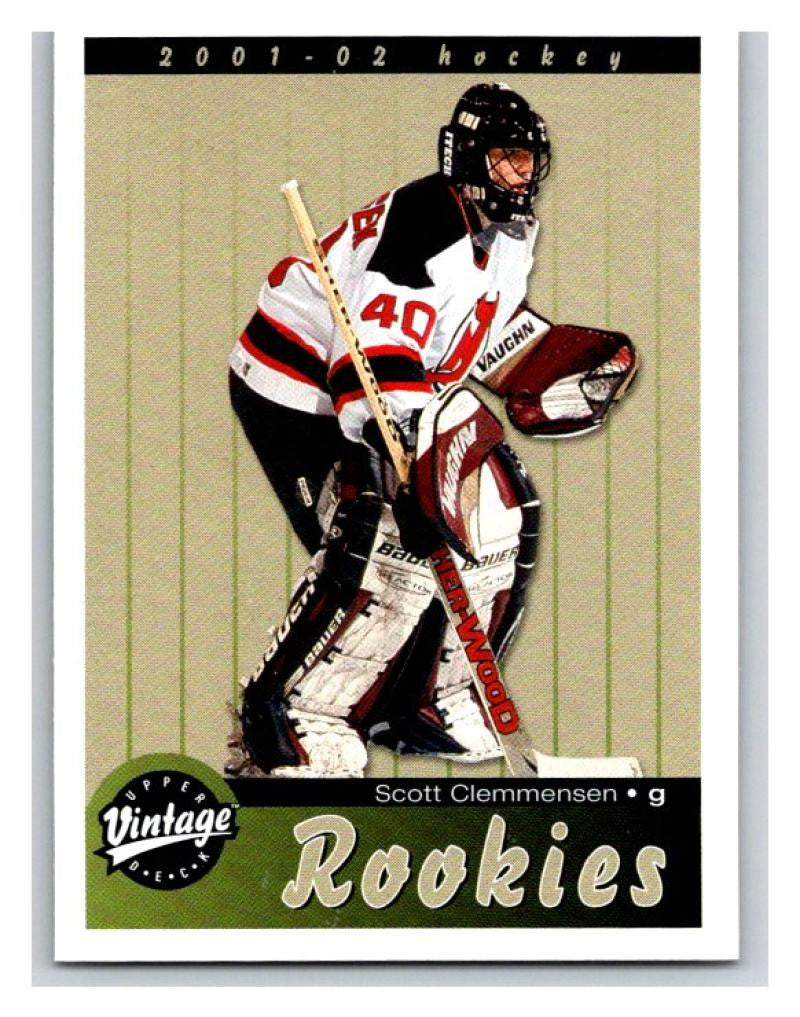 2001-02 Upper Deck Vintage #285 Scott Clemmensen MINT Hockey NHL RC 02800