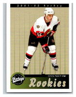 2001-02 Upper Deck Vintage #291 Chris Neil MINT Hockey NHL RC Rookie 02805