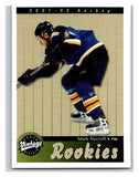 2001-02 Upper Deck Vintage #296 Mark Rycroft MINT Hockey NHL RC Rookie 02809