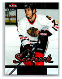 2005-06 Fleer Ultra #209 Brent Seabrook NM-MT Hockey NHL Rookie Blackhawks 02813