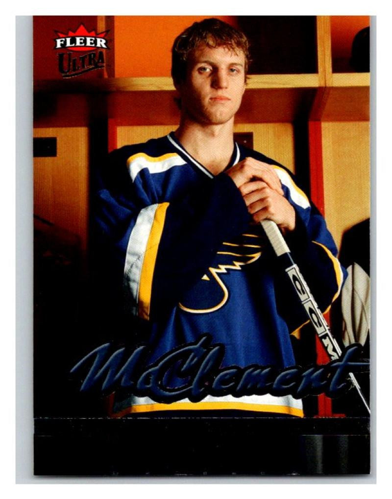 2005-06 Fleer Ultra #243 Jay McClement NM-MT Hockey NHL RC Rookie Blues 02817