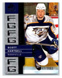 2002-03 SP Authentic #121 Scott Hartnell MINT Hockey NHL 952/2003 UD 02887