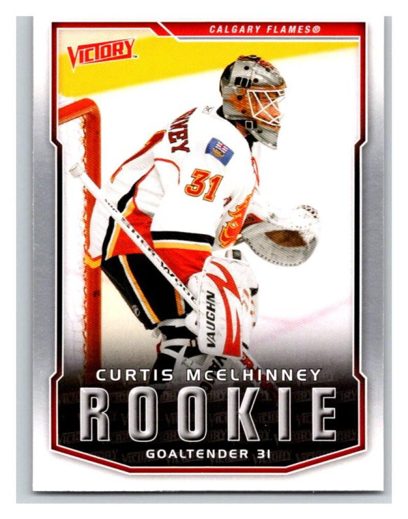 2007-08 Upper Deck Victory #305 Curtis McElhinney MINT Hockey NHL RC 02917