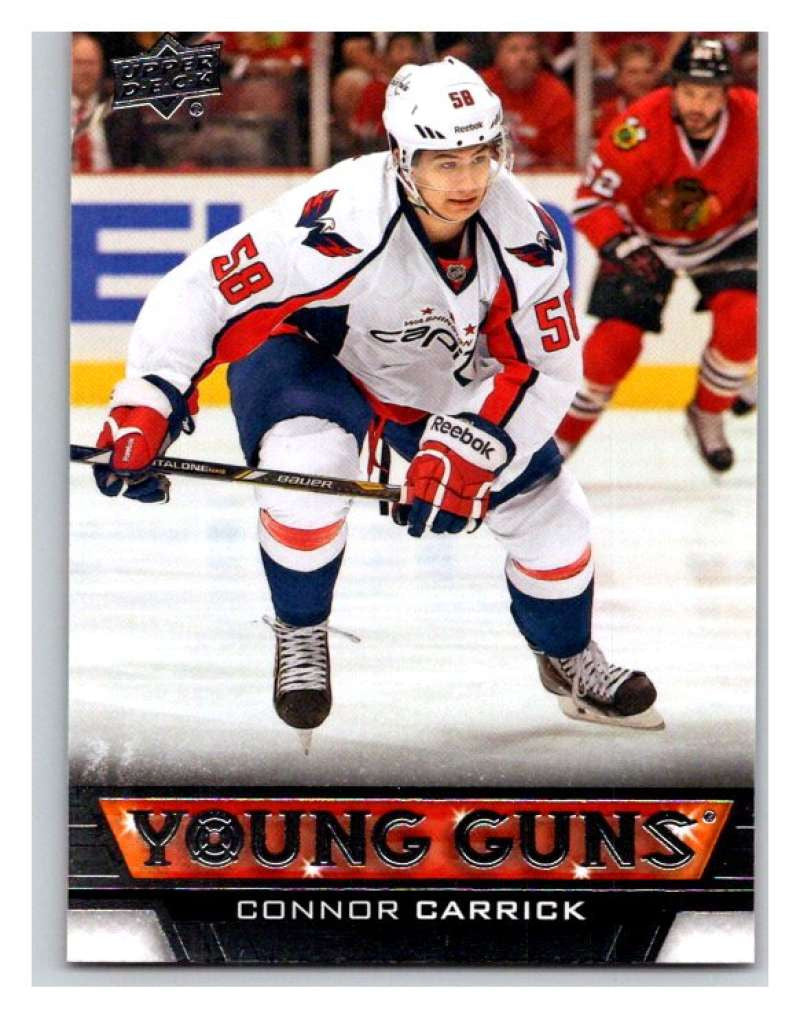 (HCW) 2013-14 Upper Deck #211 Connor Carrick RC Rookie Capitals YG 02926