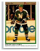 (HCW) 1990-91 OPC Premier #3 Brian Bellows North Stars Mint