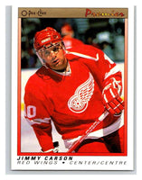 (HCW) 1990-91 OPC Premier #12 Jimmy Carson Red Wings Mint