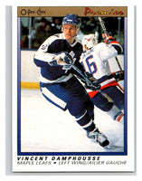 (HCW) 1990-91 OPC Premier #21 Vincent Damphousse Maple Leafs Mint