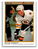 (HCW) 1990-91 OPC Premier #26 Peter Douris RC Rookie Bruins Mint