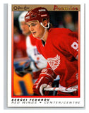 (HCW) 1990-91 OPC Premier #30 Sergei Fedorov RC Rookie Red Wings Mint