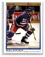 (HCW) 1990-91 OPC Premier #36 Mike Gartner Mint
