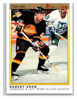 (HCW) 1990-91 OPC Premier #52 Robert Kron Canucks Mint