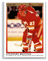 (HCW) 1990-91 OPC Premier #68 Stephane Matteau RC Rookie Flames Mint