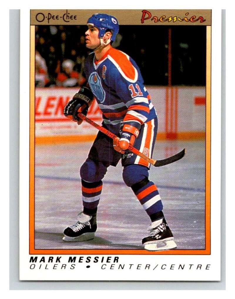 (HCW) 1990-91 OPC Premier #71 Mark Messier Oilers Mint
