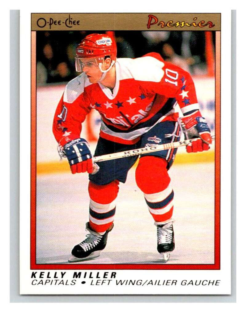 (HCW) 1990-91 OPC Premier #72 Kelly Miller Capitals Mint