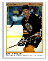 (HCW) 1990-91 OPC Premier #85 Chris Nilan Mint