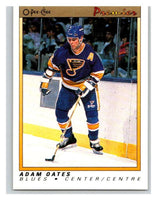 (HCW) 1990-91 OPC Premier #88 Adam Oates Blues Mint