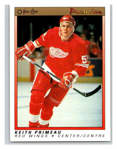 (HCW) 1990-91 OPC Premier #91 Keith Primeau RC Rookie Red Wings Mint