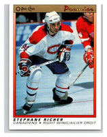 (HCW) 1990-91 OPC Premier #98 Stephane Richer Canadiens Mint