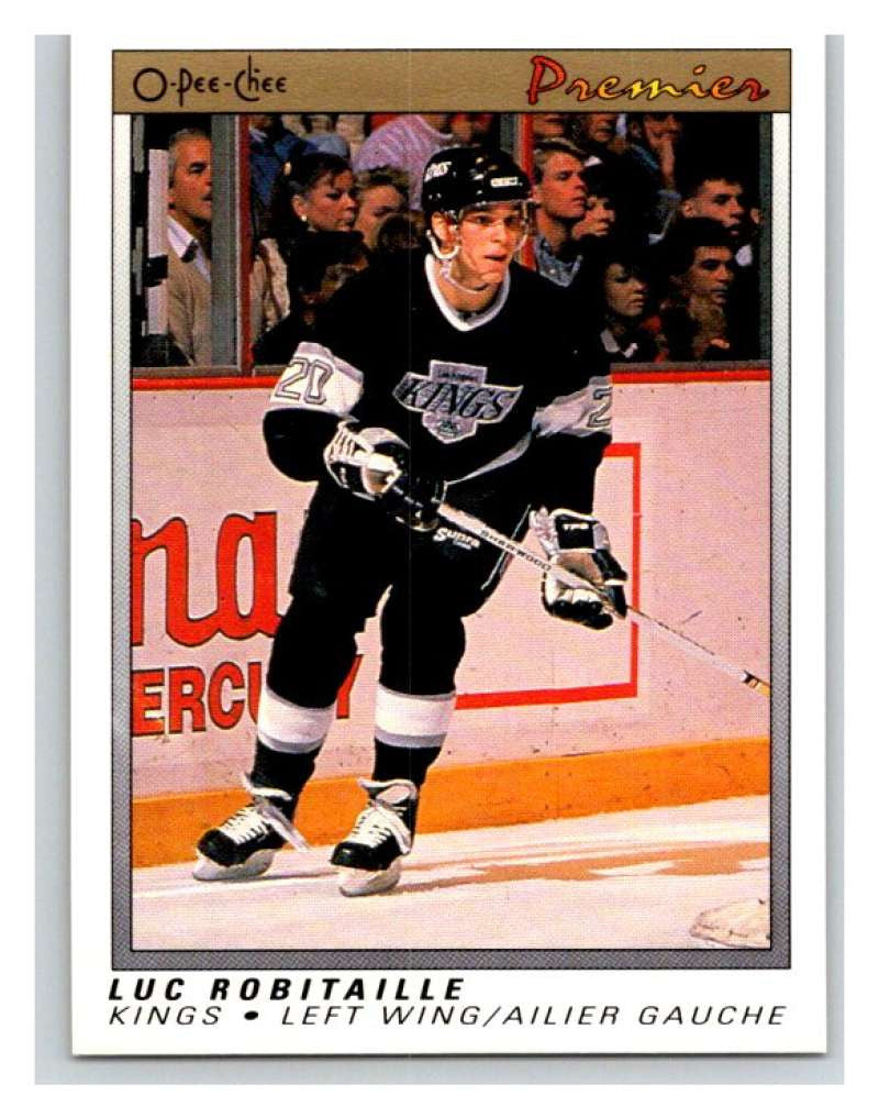 (HCW) 1990-91 OPC Premier #99 Luc Robitaille Kings Mint