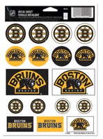 (HCW) Boston Bruins Vinyl Sticker Sheet 5