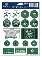 (HCW) Dallas Stars Vinyl Sticker Sheet 5