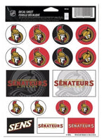 (HCW) Ottawa Senators Vinyl Sticker Sheet 5