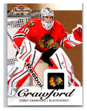 2013-14 Upper Deck Fleer Showcase #18 Corey Crawford Blackhawks NHL Mint