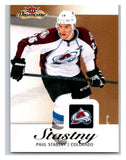 2013-14 Upper Deck Fleer Showcase #22 Paul Stastny Avalanche NHL Mint