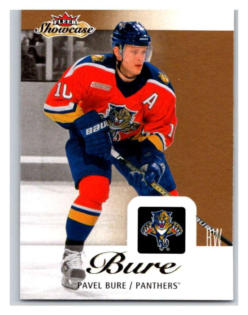 2013-14 Upper Deck Fleer Showcase #37 Pavel Bure Panthers NHL Mint
