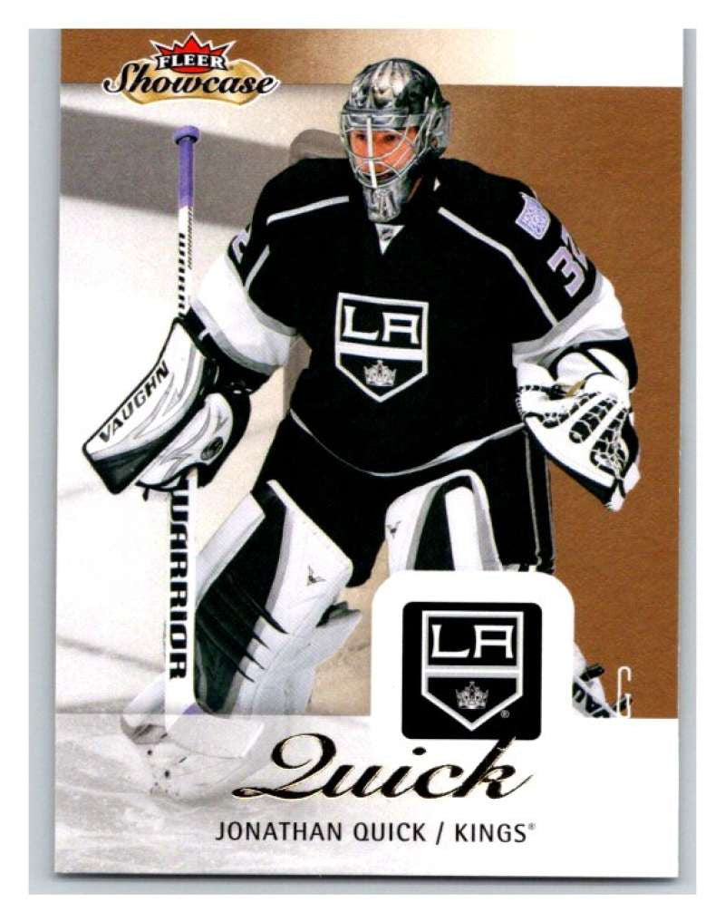 2013-14 Upper Deck Fleer Showcase #39 Jonathan Quick Kings NHL Mint