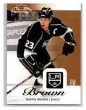 2013-14 Upper Deck Fleer Showcase #42 Dustin Brown Kings NHL Mint