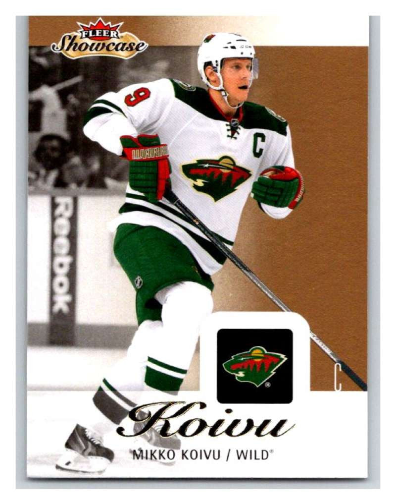 2013-14 Upper Deck Fleer Showcase #45 Mikko Koivu Wild NHL Mint