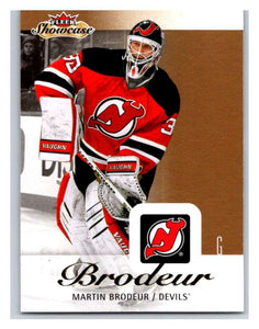 2013-14 Upper Deck Fleer Showcase #55 Martin Brodeur NJ Devils NHL Mint