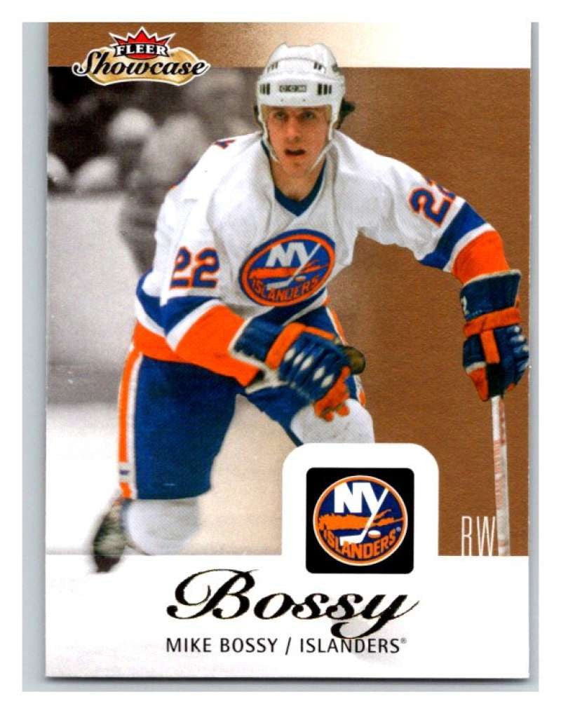 2013-14 Upper Deck Fleer Showcase #57 Mike Bossy NY Islanders NHL Mint