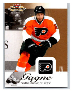 2013-14 Upper Deck Fleer Showcase #70 Simon Gagne Flyers NHL Mint