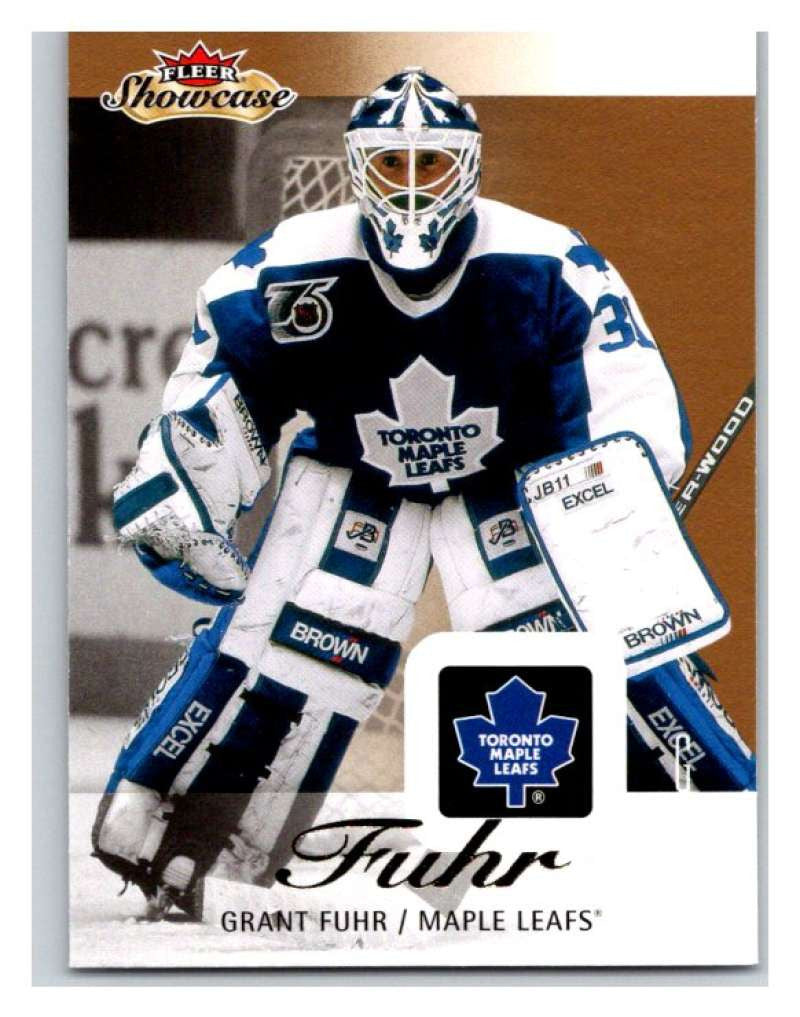 2013-14 Upper Deck Fleer Showcase #89 Grant Fuhr Maple Leafs NHL Mint