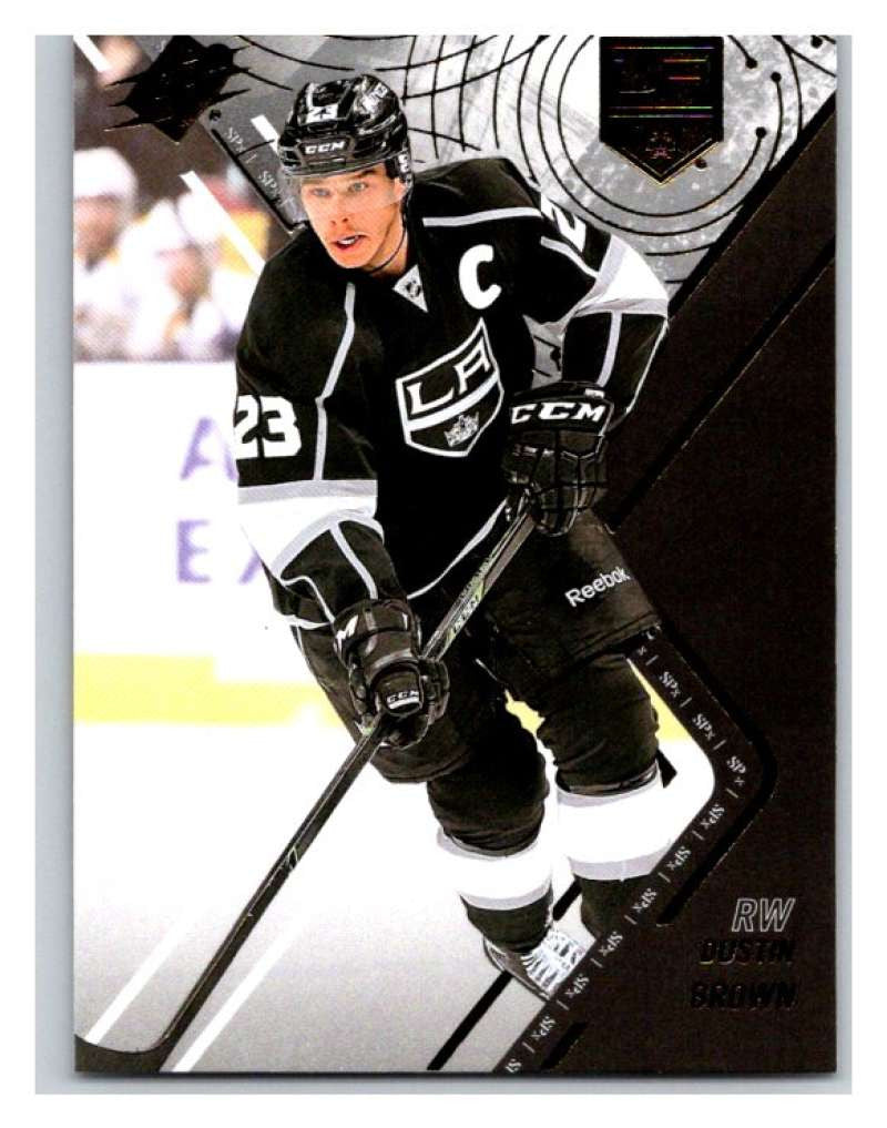 2015-16 SPx #16 Dustin Brown Kings Upper Deck NHL Mint