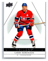 2013-14 Upper Deck Trilogy #54 Larry Robinson Canadiens NHL UD Mint