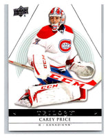 2013-14 Upper Deck Trilogy #56 Carey Price Canadiens NHL UD Mint