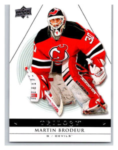 2013-14 Upper Deck Trilogy #59 Martin Brodeur NJ Devils NHL UD Mint