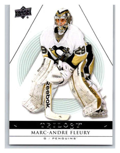 2013-14 Upper Deck Trilogy #78 Marc-Andre Fleury Penguins NHL UD Mint