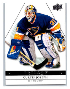 2013-14 Upper Deck Trilogy #85 Curtis Joseph Blues NHL UD Mint
